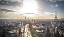 Paris vazut de sus
