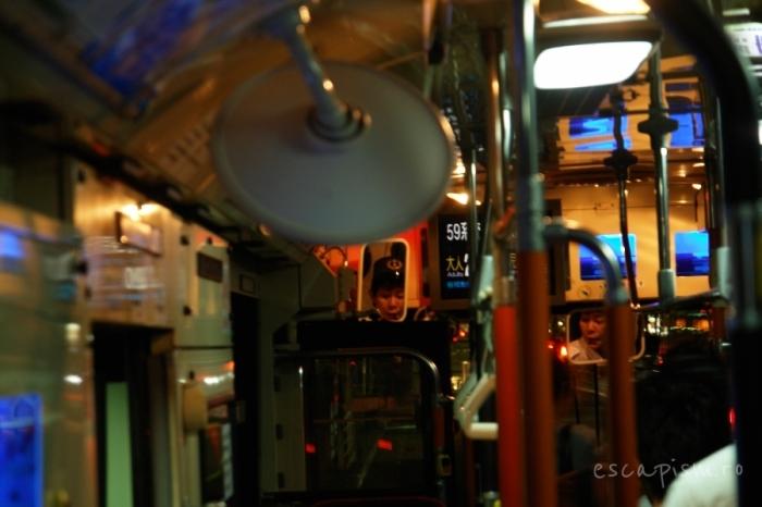 sofer autobuz kyoto japonia