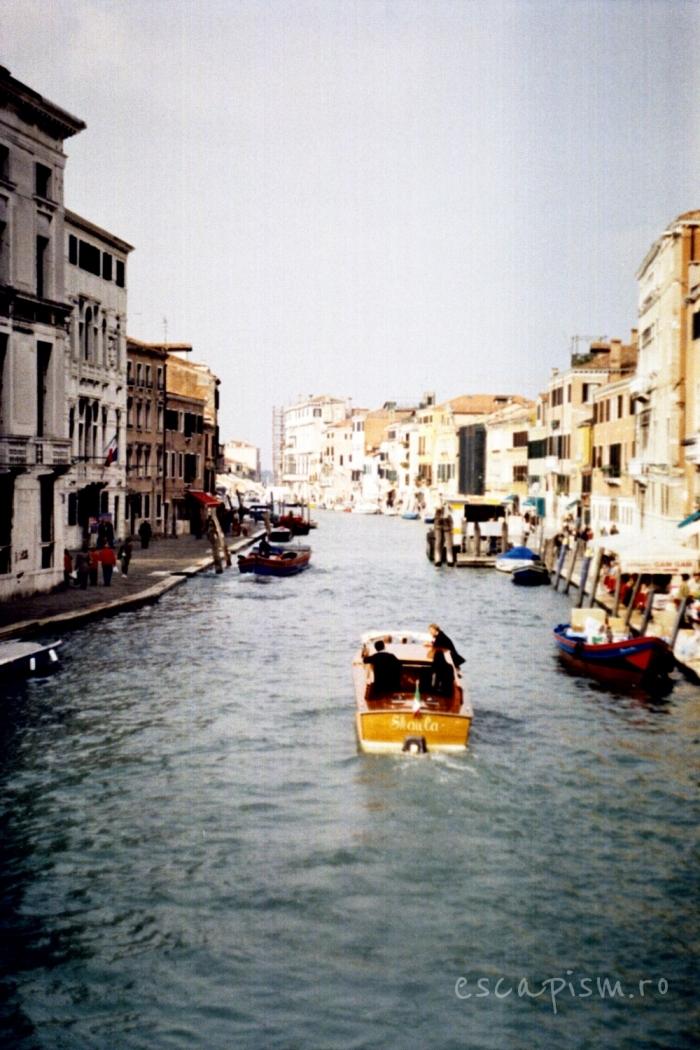canal venetia salupa