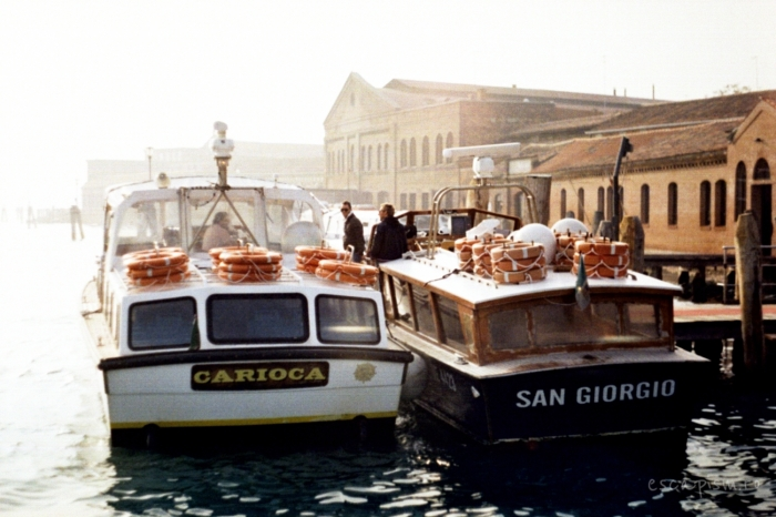 canal venetia salupe