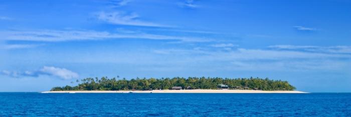 insula tavarua fiji panorama