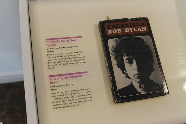 exponat Bob Dylan Museum of Broken Relationships