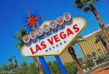 Semn cu Welcome to Las Vegas