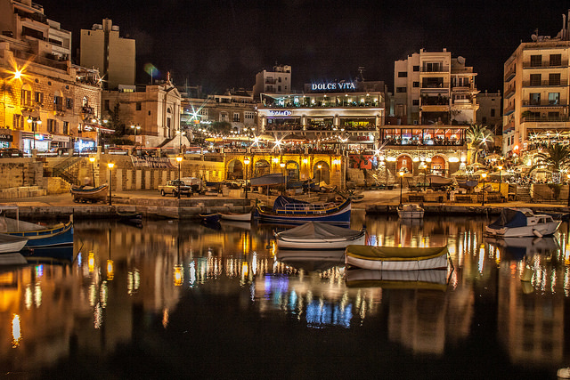 Spinola Bay St Julian's