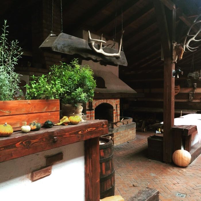 Cabana Vanatorilor terasa