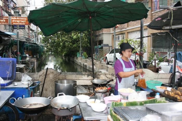 Bangkok-rau-comerciant-ambulant