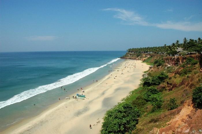 plaja varkala kerala india