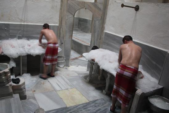 Suleymaniye Hamam baie turceasca pentru cupluri