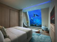 dormitor subacvatic Ocean Suites Singapore