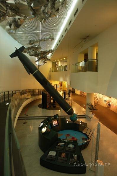 Interiorul muzeului